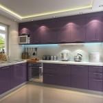 Purple-Kitchen-Ideas-Applying-Gloss-Kitchen-Cabinets