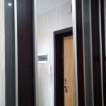 Гардеробная с комбинированными дверями купе - Фабрика Адалит