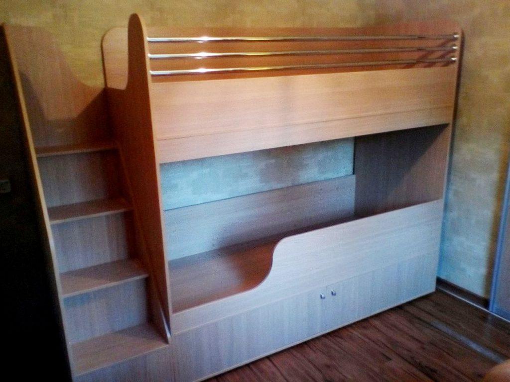 Изготовление двухъярусной кровати для детской - Фабрика Адалит