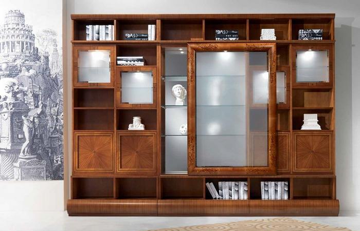 Книжный шкаф на заказ - Мебельная фабрика Адалит