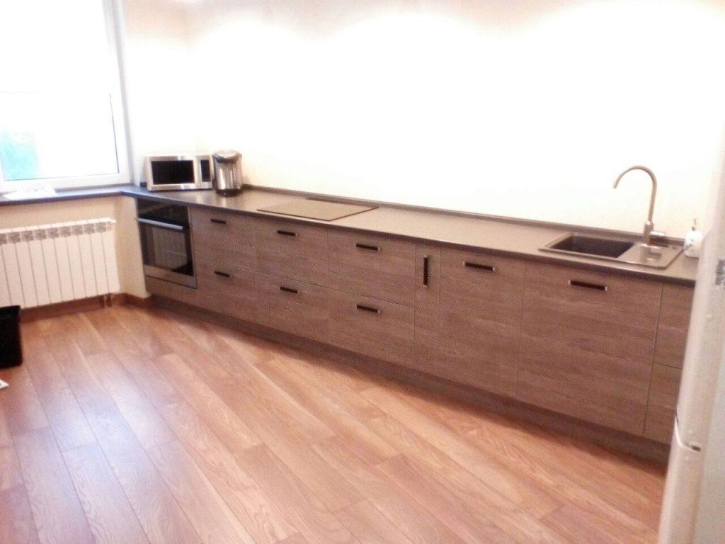 Линейная кухня на заказ - Мебельная фабрика Адалит