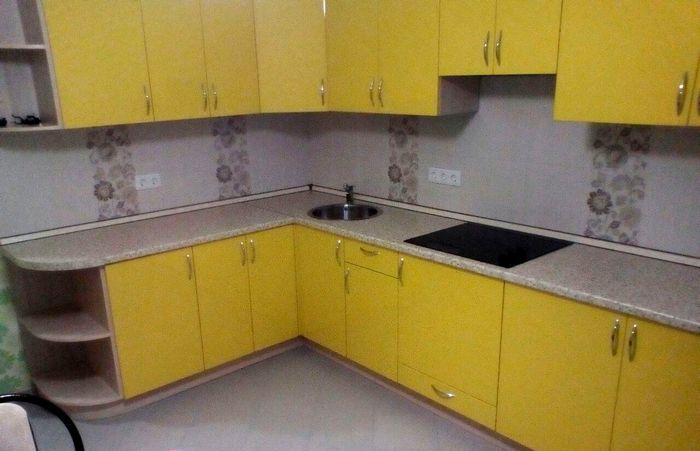 Кухня на заказ Солнечное настроение - Мебельная фабрика Адалит