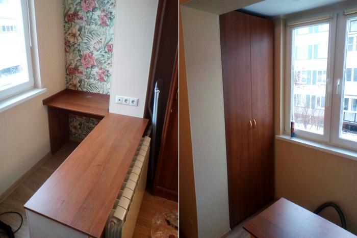 Мебель для балкона - Мебельная фабрика Адалит