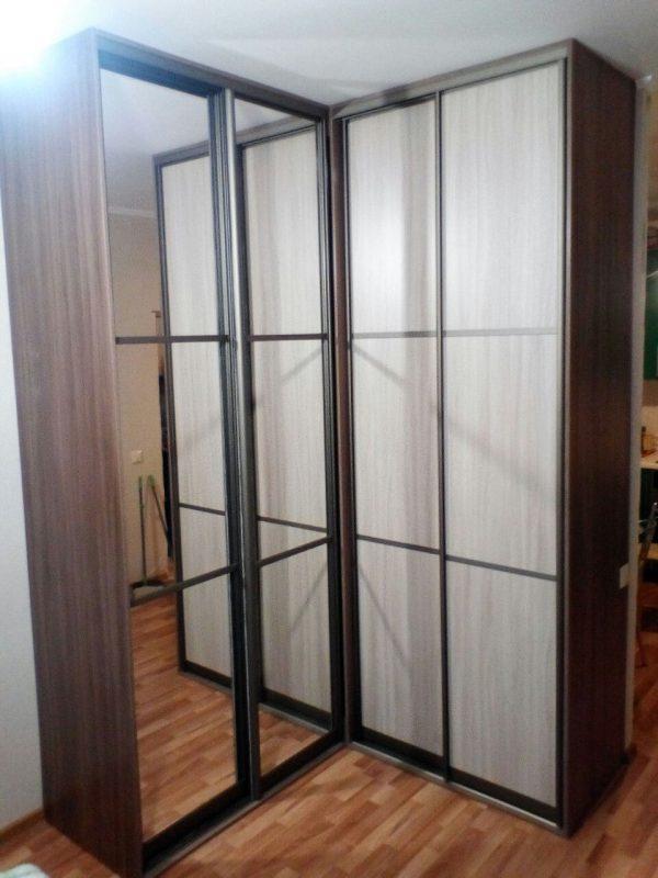 Два угловых корпусных шкафа-купе на заказ - Мебельная фабрика Адалит