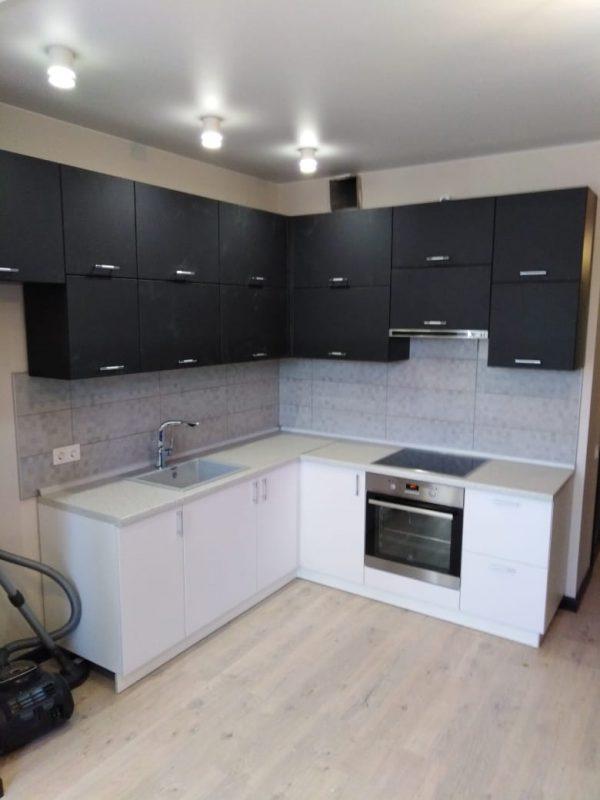 Кухонный гарнитур в стиле минимализм на заказ