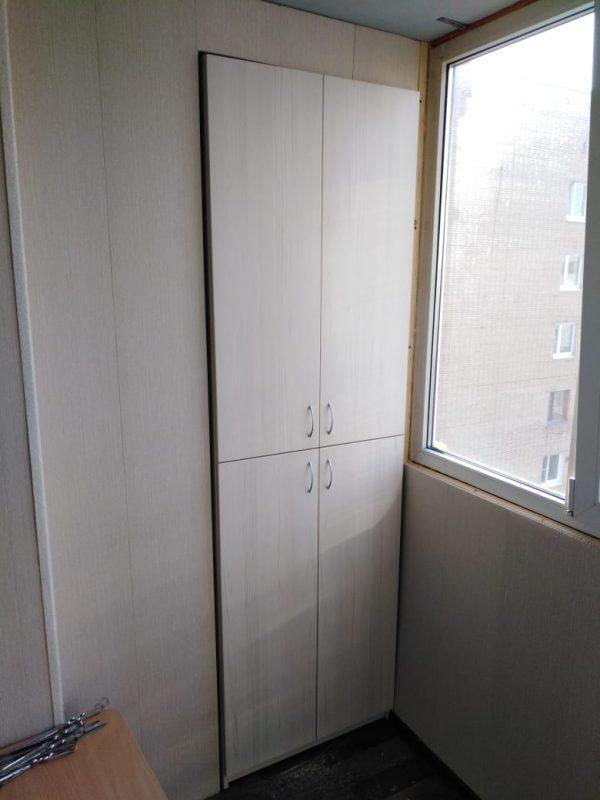 Шкаф на балкон под заказ