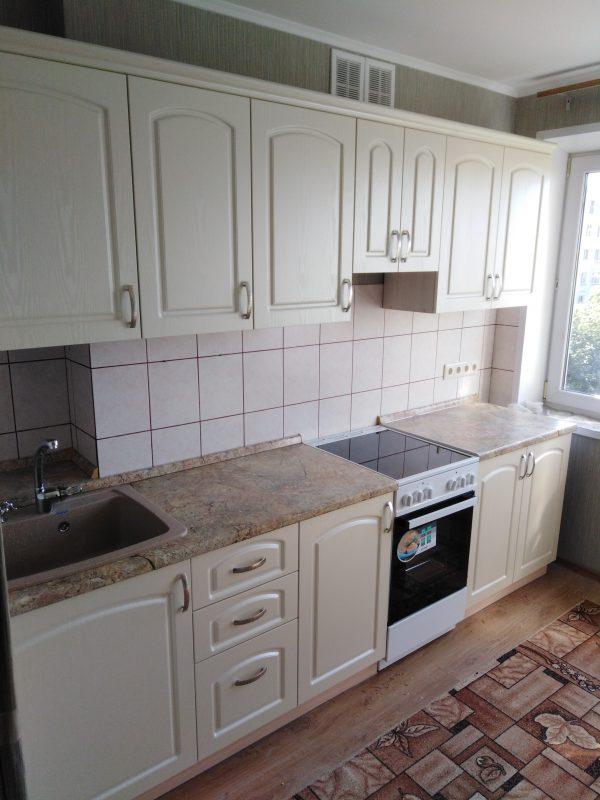 Линейная кухня в пастельной цветовой гамме - Мебельная фабрика Адалит