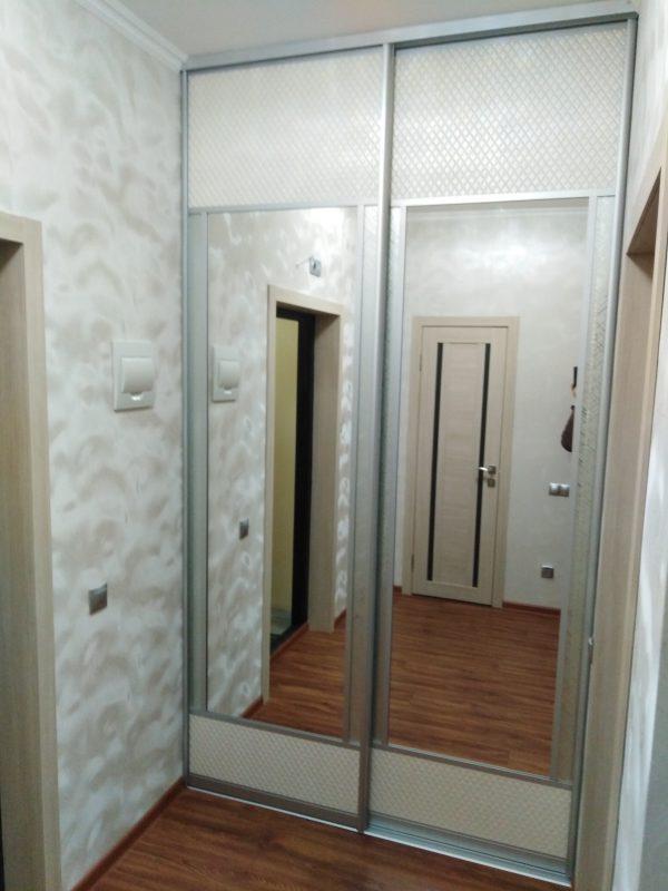 Комбинированный шкаф-купе для прихожей - Мебельная фабрика Адалит