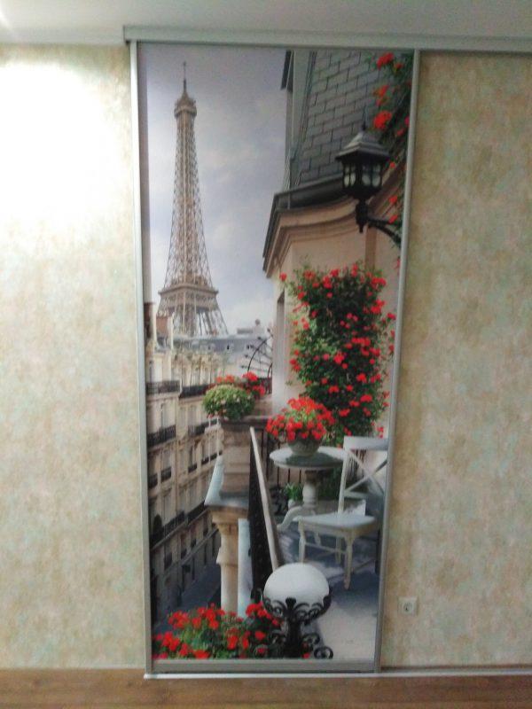 Раздвижные двери-купе с фотопечатью - Мебельная фабрика Адалит