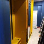 Желтая прихожая в современном стиле - Мебельная фабрика Адалит