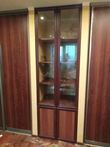 Встроенный шкаф-стенка для гостиной - Мебельная фабрика Адалит