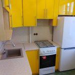 Маленькая кухня в желтом цвете - Мебельная фабрика Адалит