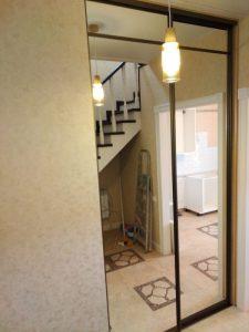 Зеркальный шкаф-купе нестандартной высоты - Мебельная фабрика Адалит