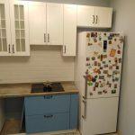 Бело-голубая кухня в стиле прованс - Мебельная фабрика Адалит
