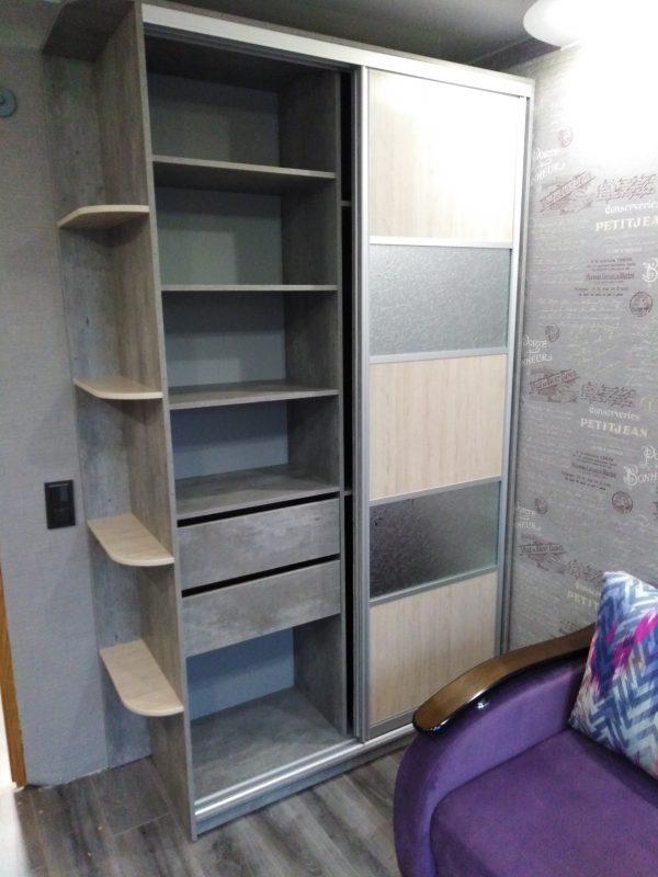 Корпусной шкаф купе и рабочий стол с пеналом - Мебельная фабрика Адалит