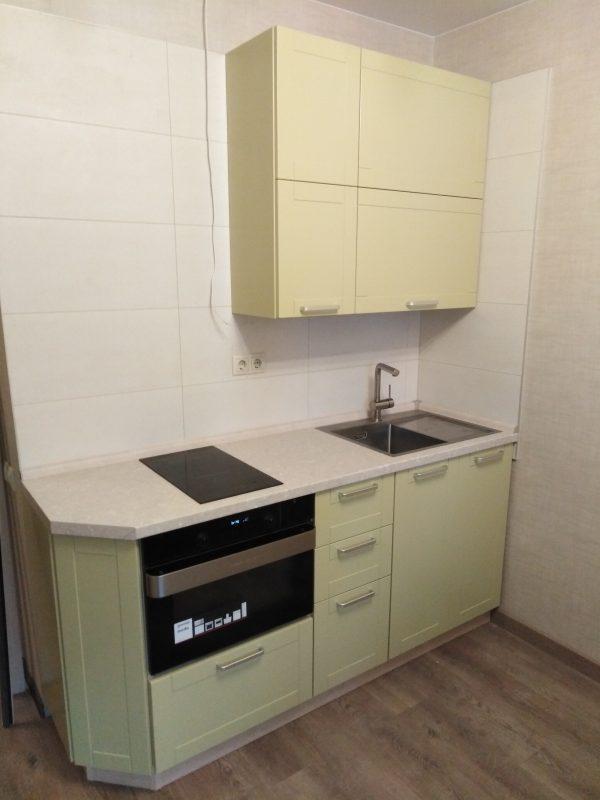 Двухрядная кухня (по двум противоположным стенам) - Мебельная фабрика Адалит
