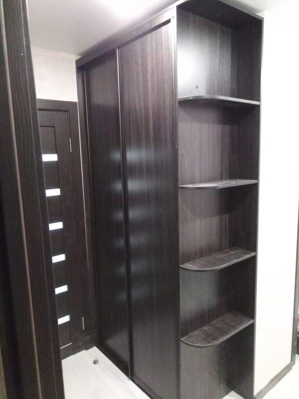 Встроенный шкаф купе из ЛДСП «Джарах» - Мебельная фабрика Адалит