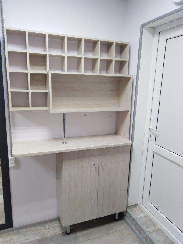 Стол с надстройкой по эскизу клиента - Мебельная фабрика Адалит