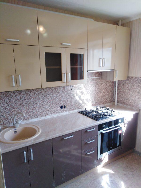 Кухня в цвете «шампань» - Мебельная фабрика Адалит