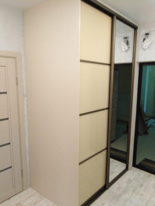Шкаф-купе «шампань» с зеркалом - Мебельная фабрика Аадлит