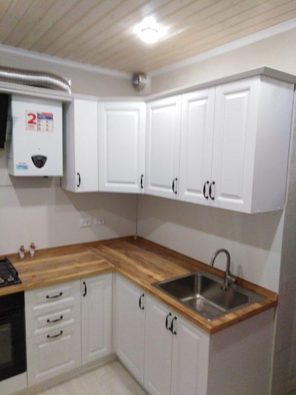 Белая кухня в скандинавском стиле - Мебельная фабрика Адалит